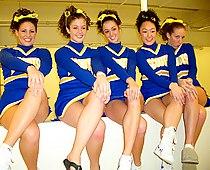 Hs cheerleader upskirt